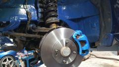 MK1 / 2 MAZDA MX5 (1989 - 2005) REPLACE FRONT BRAKE DISCS & PADS